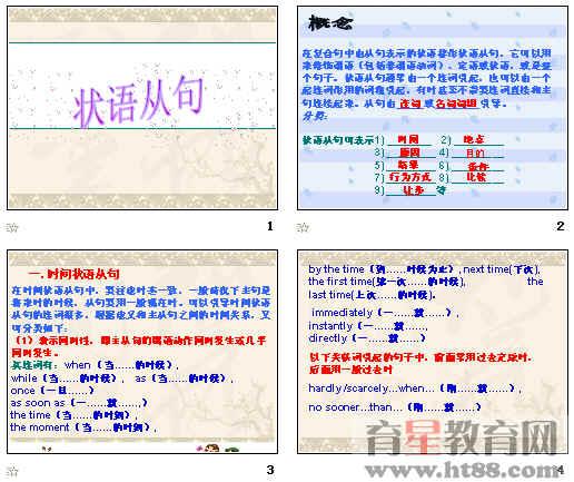 2010年高考英语语法辅导课件:状语从句ppt