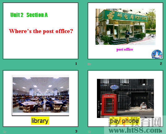 s the post office ppt3 -Where s the post officeppt3 人教课标版图片