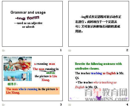 高中英语v ing形式ppt