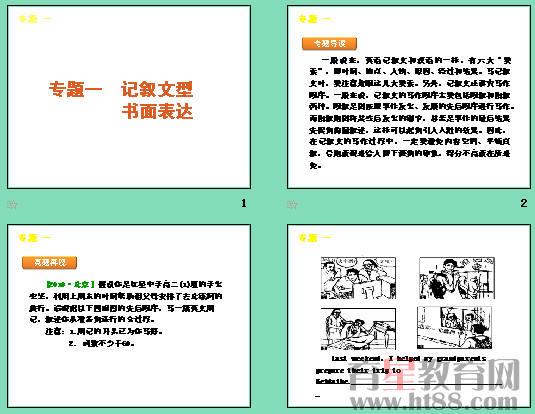 英语三轮专题复习课件(新课标湖南专用):书面表达专题2 议论文型书面