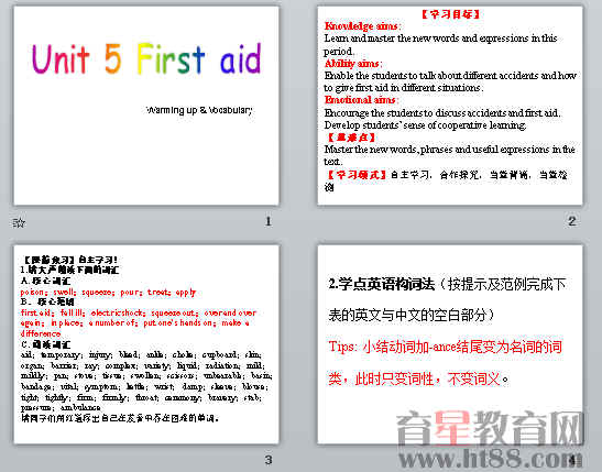 《First aid》ppt120