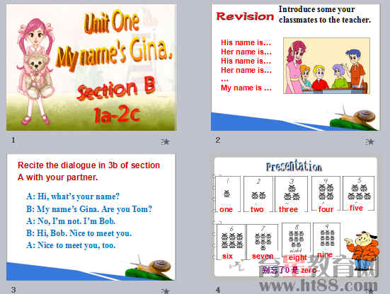 《My name's Gina》ppt80