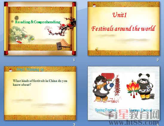 《Festivals around the world》