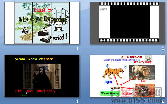 《Why do you like pandas》ppt6