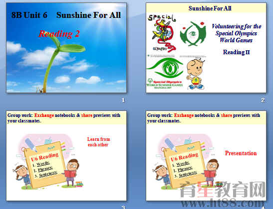 《Sunshine for all》ppt76